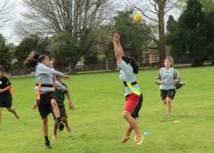 Traditional Māori ball game kī o rahi, similar to rugby, growing in Auckland