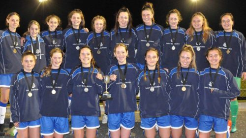 Saint Kentigern win Premier Girls Football Championships