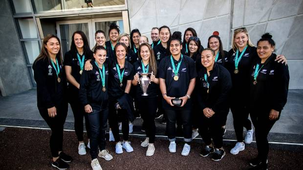 Black Ferns' deeds win the hearts of young female rugby players