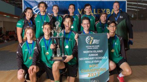 Orewa College volleyball squad delivers the perfect season