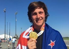Discus thrower Connor Bell dominates the field to take Youth Olympic Games gold