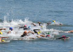 Cody Dalton & Terri Warner win Senior Aquathon Championships