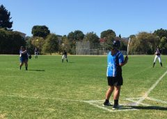 Slow pitch softball provides opportunities for developing players
