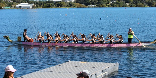 Hockey sticks do job for dragon boaters