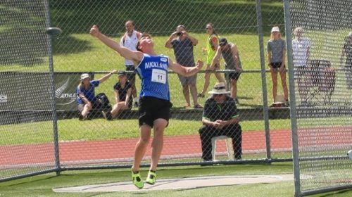 Teenage discus talent sets bold ambitions