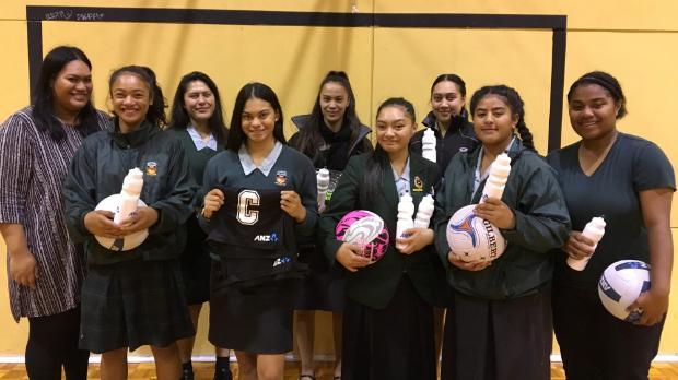 Papakura High School netball team hits the jackpot