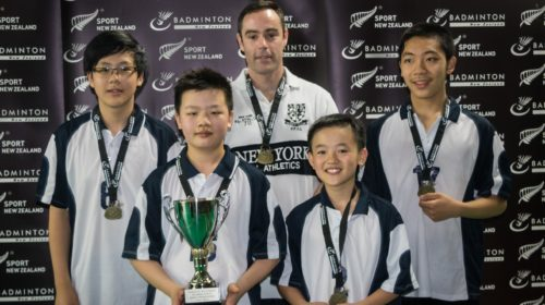 New teams taste success at NZSS Junior Badminton Championships