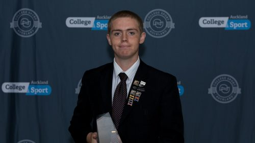 Ben Matthews named Student Official of the Year