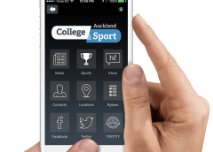 How to get notifications via the College Sport Auckland app