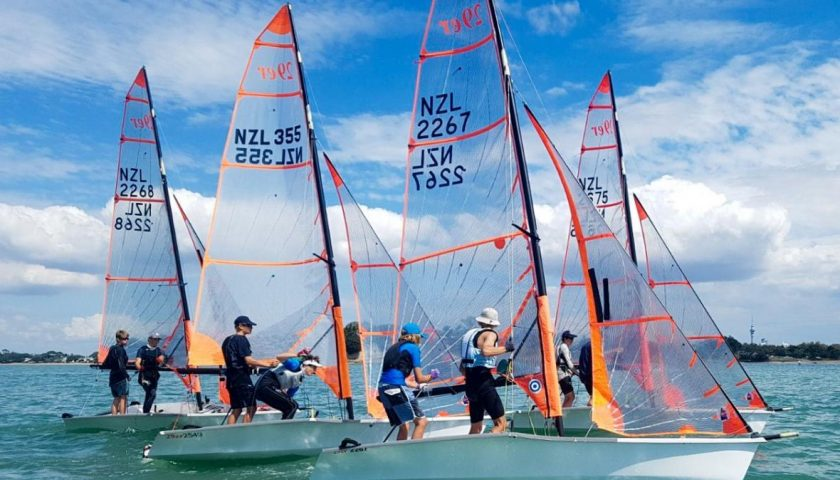 Westlake Boys take out Fleet Racing Regatta