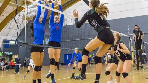 Otumoetai lose out to Westlake Girls at NZSS Volleyball Championships