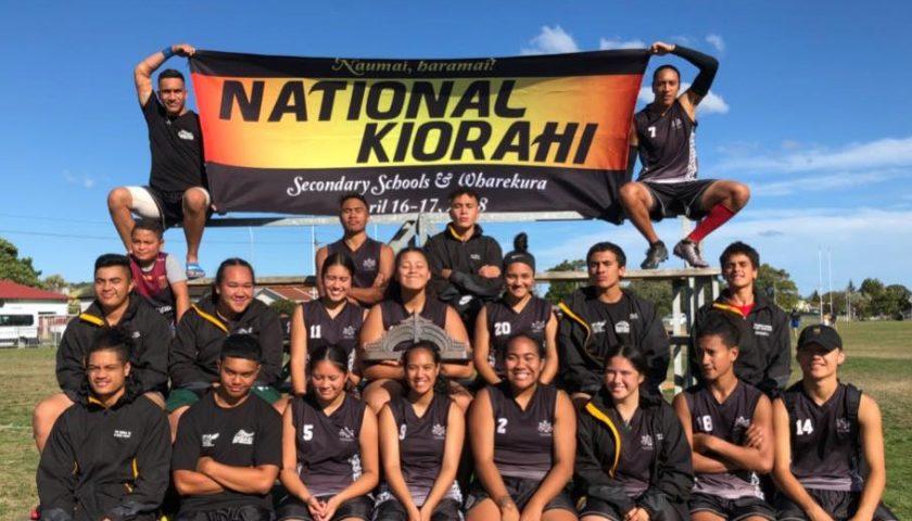 Nga Tapuwae reign supreme at Ki o Rahi nationals