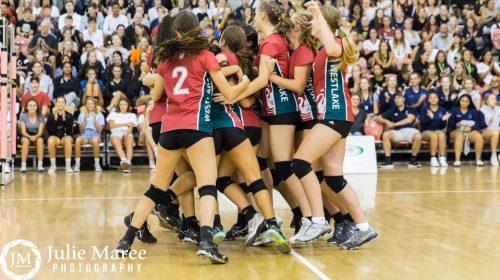 Tamara Otene & Westlake Girls volleyball flying high