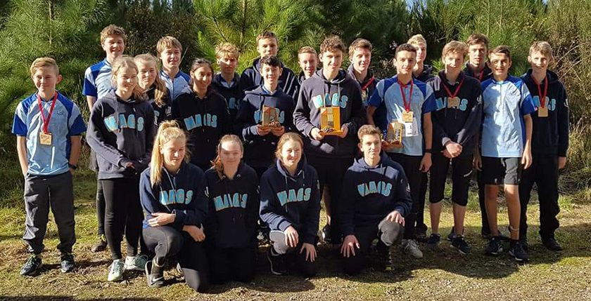 MAGS Orienteering Boys run away with NZ Champs