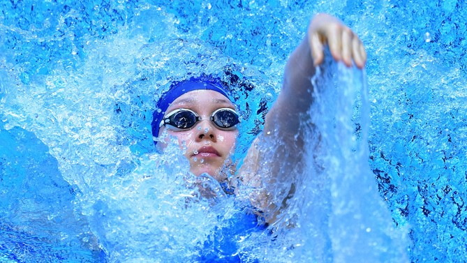 Diocesan swimmer is Youth Olympics bound