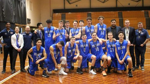 Rosmini clinch Premier Boys Basketball Title