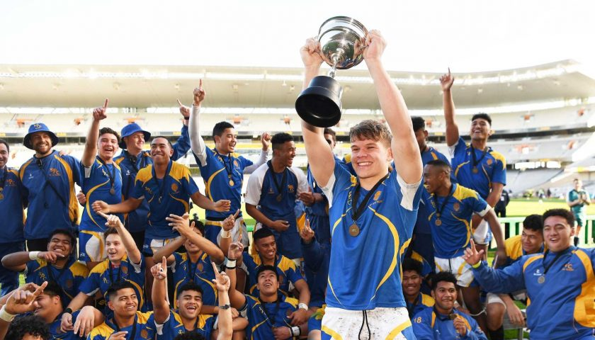 St Peter's march to 2018 1A 1st XV title