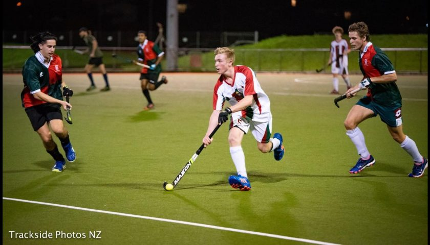 Charl Ulrich – On target in hockey