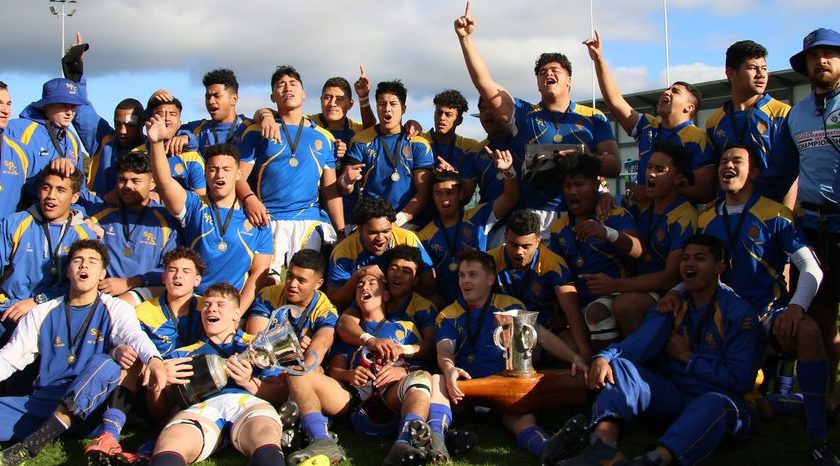 St Peter's National Top 4 Rugby Champions