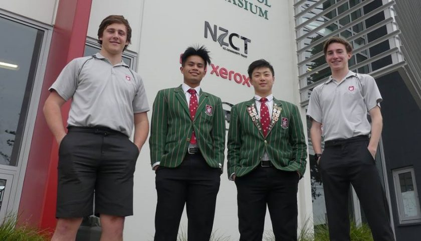 Four Westlake Boys students heading to Youth Olympics