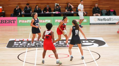 Strong start for some at Pita Pit NZSS Netball Championships