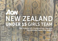 Aon NZ U15 Basketball teams named for Oceania Champs