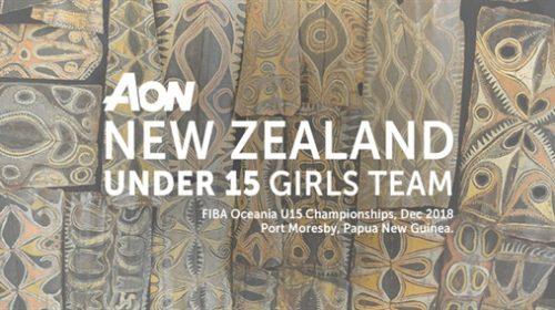 Aon NZ U15 Basketball teams named for Oceania Champs