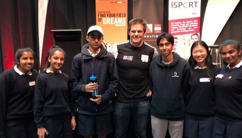 Richie McCaw shares his top tips for success with young leaders