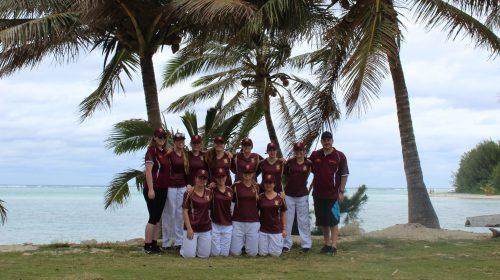 Waiuku 1st XI Girls Cricket team tour Rarotonga