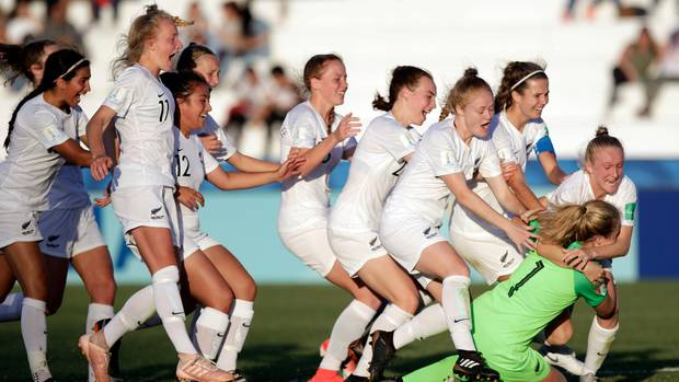 c0351e68ca7 NZ through to U17 Women's World Cup semifinals- NZ Herald: The New Zealand  U-17 women's team has shocked the footballing world by defeating Japan on  ...