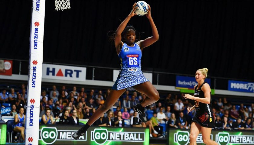 From tears to triumph: Schoolgirl netballer Grace Nweke's rapid rise to top
