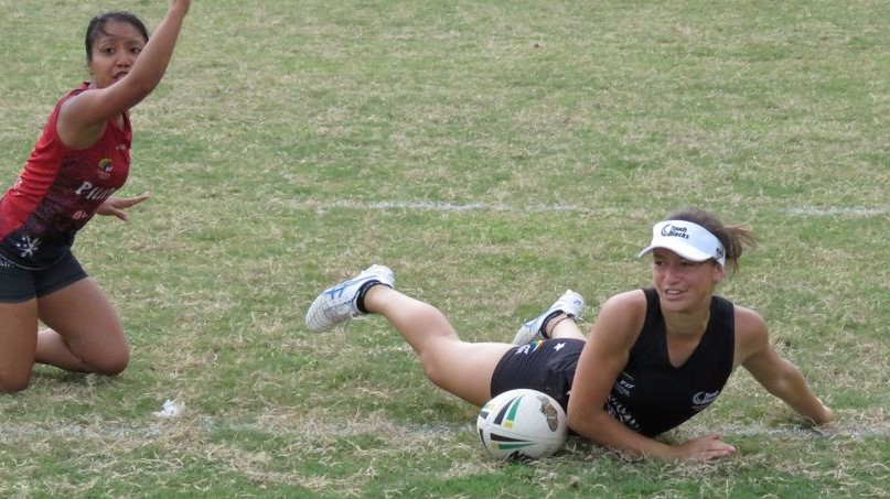 Touch and netball keeping Jaymie Kolose busy