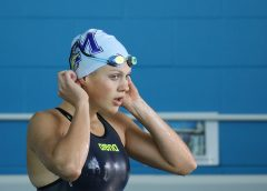 Brearna Crawford claims NZ Open Record