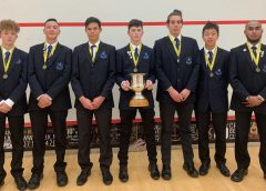 Mt Albert Grammar claim NZSS Squash title