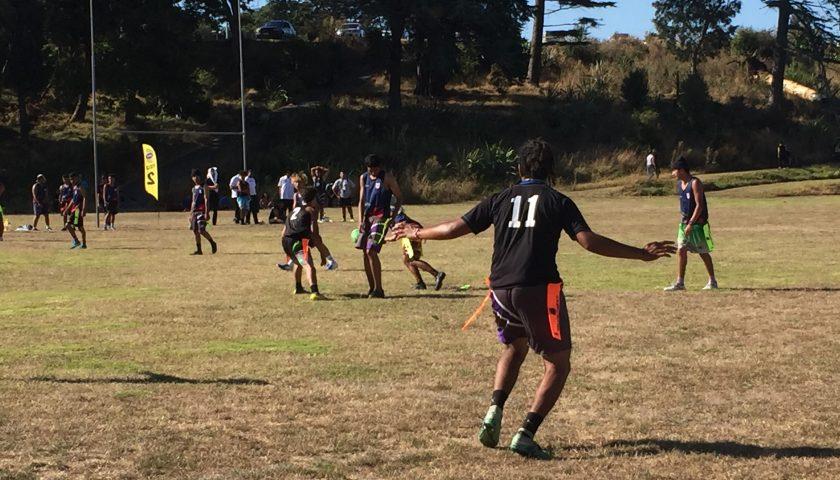 Pilot Tag Football Season underway at Otahuhu College