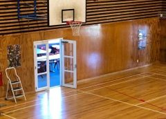 Waiuku College gym opens its doors again
